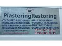 Lime plastering expert