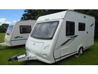 Touring Caravan Hire - Delivered to Events - Badminton, Goodwood, Great Dorset Steam Fair