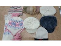 Ladies Hats and Scarves