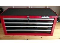 Halfords Professional 4 Drawer Roller Bearing Tool Chest Box