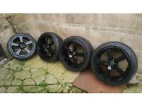 Ford peugeot 17inch alloy wheels