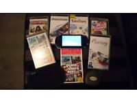 PSP 1003, 6 games and extras