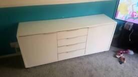 High gloss sideboard