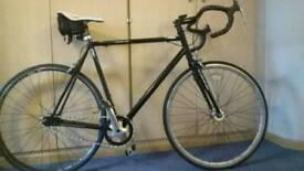 Viking FX fixed geared (fixy) Retro man's large frame bike