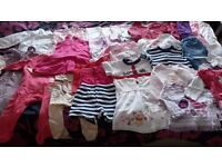 Bundle of baby clothes 6 to 12 months