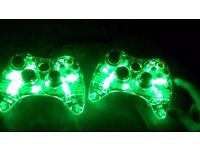 2 working xbox360 controllers for sale