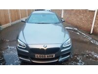 2011/61 BMW 640D M SPORT COUPE IN SPACE GREY METALLIC PAINT