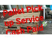 Pallet pickup service