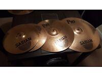 sabian pro cymbal set