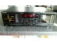 Sony TC WR870 Cassette Recorder