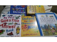Variety of books for kids