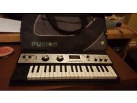 Korg microkorg XL with Fusion gig bag