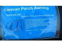 CARAVAN PORCH AWNING, PRESTINA 260