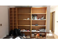 Shelves Ikea Billy Bookcase available, whole lot or individual set of shelves