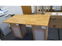 Ikea Gerton desk top (Stained and varnished)