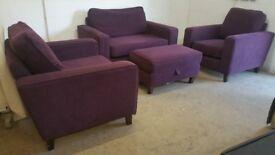 Sofa Workshop Set of Sofas / Loveseat / Chairs
