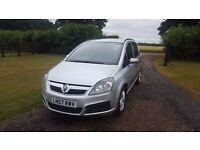 2007 Vauxhall Zafira Life 7 Seater - Automatic (EasyTronic) ** GOOD CONDITION **