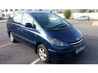 51reg TOYOTA previa ,DIESEL ,perfect 7 seater and tidy motor