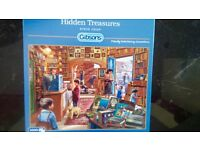 1000 piece jigsaws for sale - like new, mainly Christmas Scenes - British Sugar
