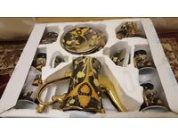 24 Carat Gold plated Teaset. Brand New boxed. Collect today cheap