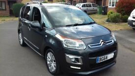 Citroen C3 Picasso Exclusive 1.6 Automatic Petrol 2014