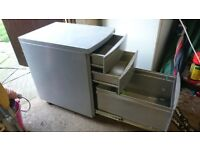 small metal office/filling cabinet