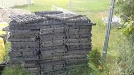 Rubber Grass Protection Mats x 150no