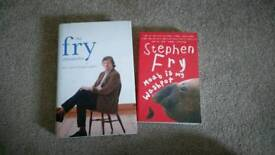 Two Stephen Fry biographies