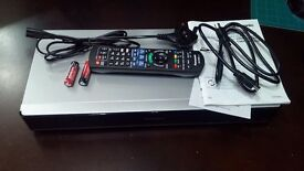 Panasonic DMR-PWT655EB BluRay DVD PVR 1TB Recorder Twin HD Freeview 3D 4K Smart