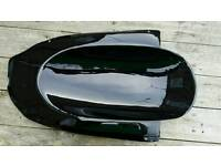 Kawasaki zx7r zx750r P1 -P2 96-03 undertail/undertray black