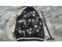 Ladies/girls embroidered zip jacket,sz 6,bnwt, ideal gift