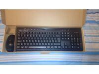 Ergonomic Wireless Keyboard and Mouse