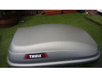 THULE BOX DEFENDER-325l including ROOF BARS
