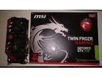MSI NVIDIA GTX 770 GAMING OC EDITION BOXED