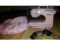 Pink sewing machine ( only used 2 times)