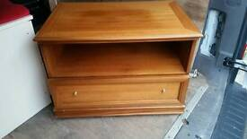 """Real wood tv stand 32"""""""