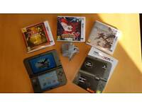New Nintendo 3DS XL and games - like new