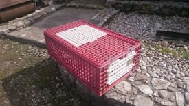 Poultry Transport Box Game Crate