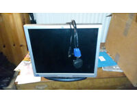 "HP 1740 17"" PC monitor"