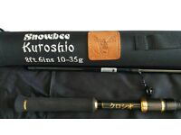 4 piece lure rod .kushuro top notch rod