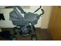 Babystyle prestige pram and carseat