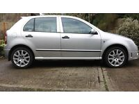 2005 Skoda Fabia VRS 1.9 TDi. Full service history. Only 1 former keeper, current owner 10 years.