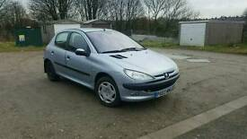 Pegeout 206 1.4 hdi £30 tax cheap car