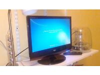 "LG HD monitor 19"" freeview TV"
