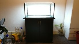 high quality, custom made aquarium and cabinet for sale