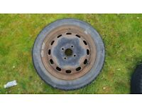 Ford Fiesta Steel Wheel, 15inch x2