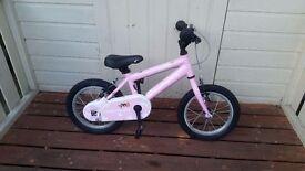 Ridgeback Honey 14 PINK Kids Bike GOOD CONDITION