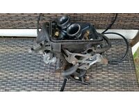 VARADERO 125 2003 CARBURETTORS WITH CHOKE CABLE. GREAT CONDITION. £110. MANY OTHER PARTS FOR SALE