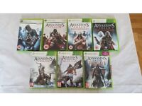 Xbox 360 Assassins Creed Games