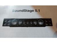 Logic3 TX101 5.1 Surround Sound Stagesound speaker bar £80 Exc cond boxed